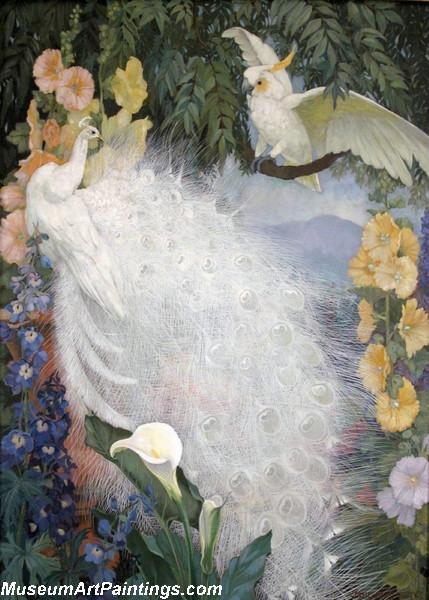 Peacock Paintings by Jessie Arms Botke 006