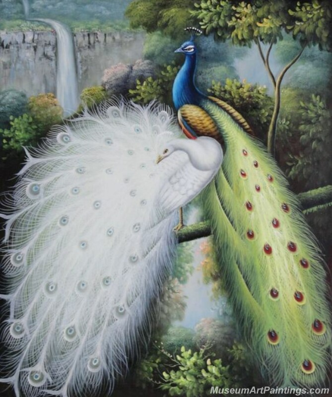 Peacocks Paintings for Sale PDM012