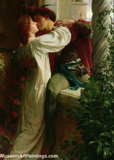Romeo And Juliet Painting by Sir Frank Dicksee