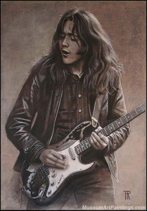Rory Gallagher Art Paintings 03