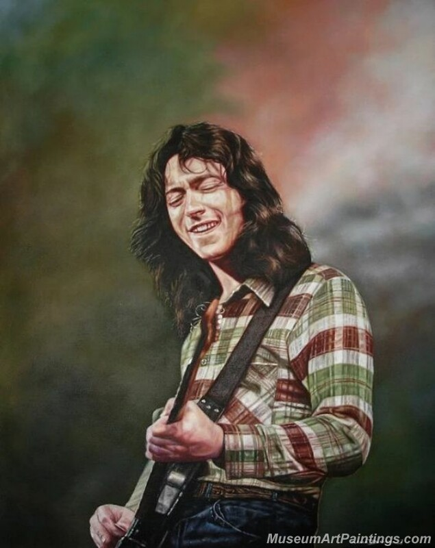 Rory Gallagher Art Paintings 06