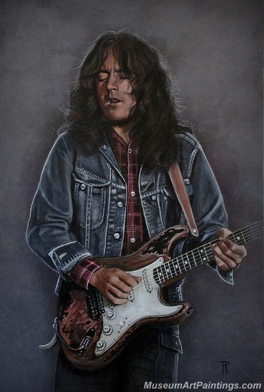 Rory Gallagher Art Paintings 09