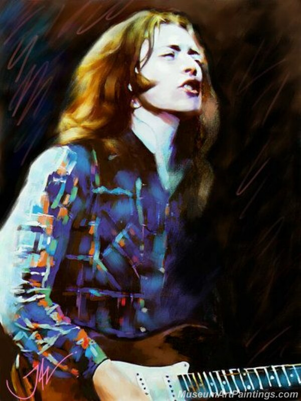 Rory Gallagher Art Paintings 11
