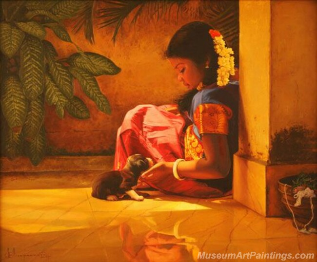 Rural Indian Women Paintings 055