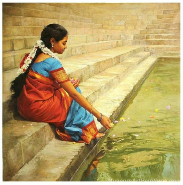 Rural Indian Women Paintings 056