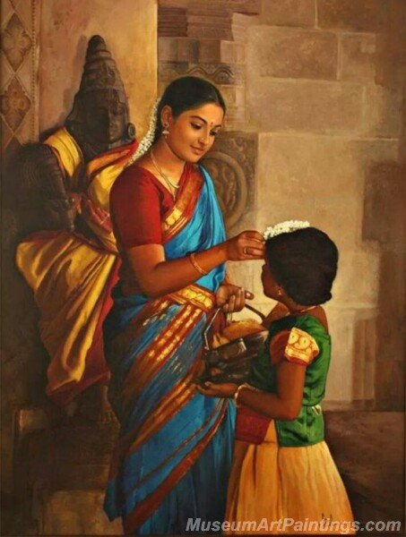 Rural Indian Women Paintings 059