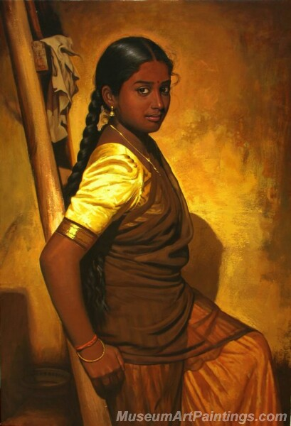 Rural Indian Women Paintings 061