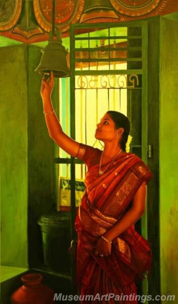 Rural Indian Women Paintings 063