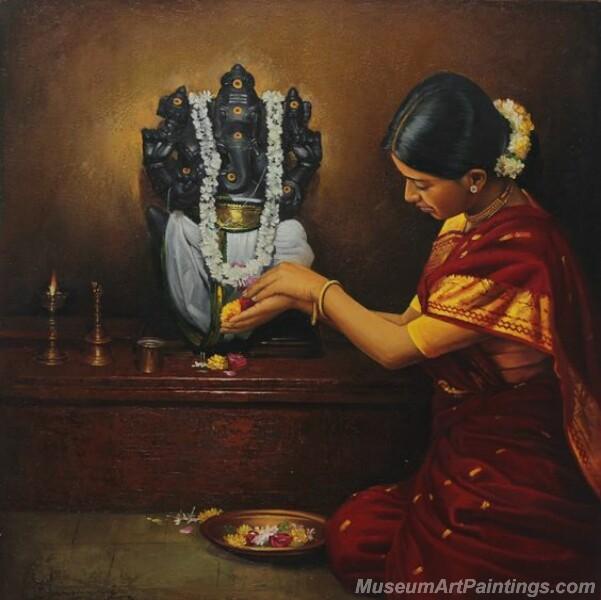 Rural Indian Women Paintings 065