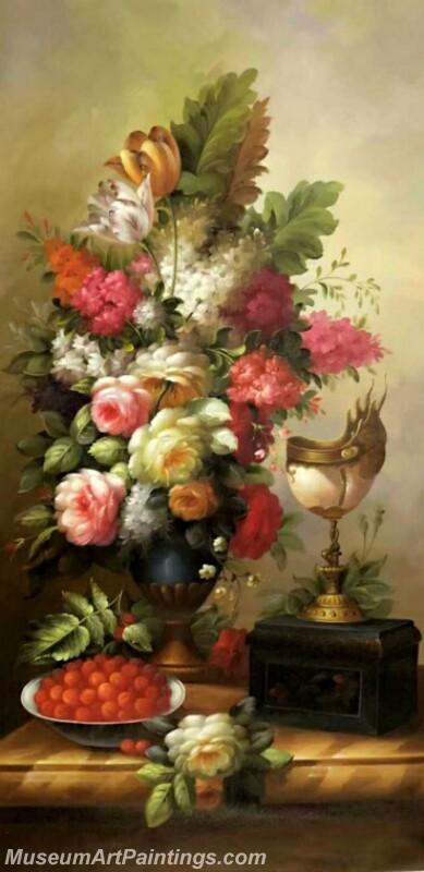Still Life Flower Paintings DM42