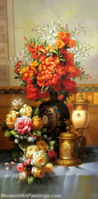 Still Life Flower Paintings DM54