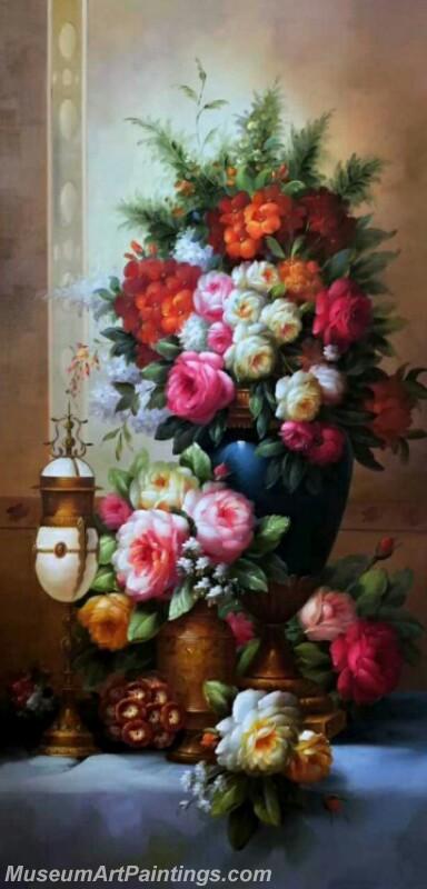 Still Life Flower Paintings MDA01