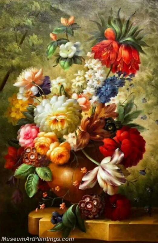 Still Life Flower Paintings MDA02