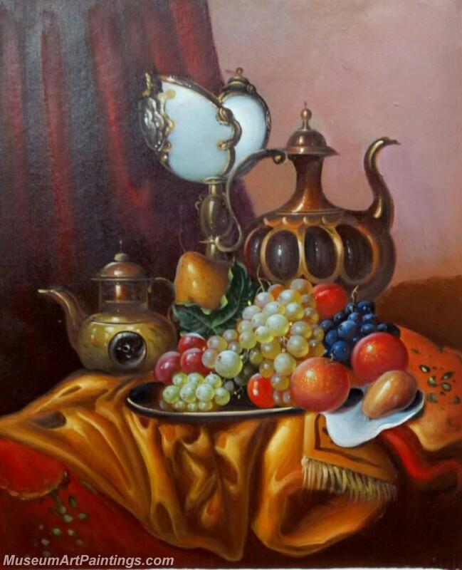 Still Life Fruit Paintings DM25