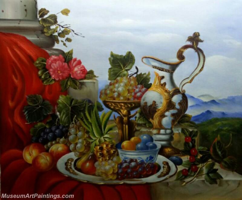Still Life Fruit Paintings MD6