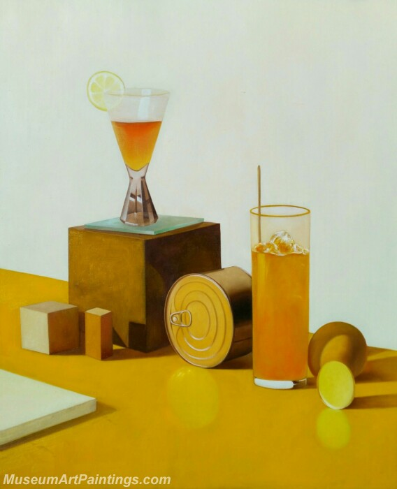 Still Life Painting Fruit Juice