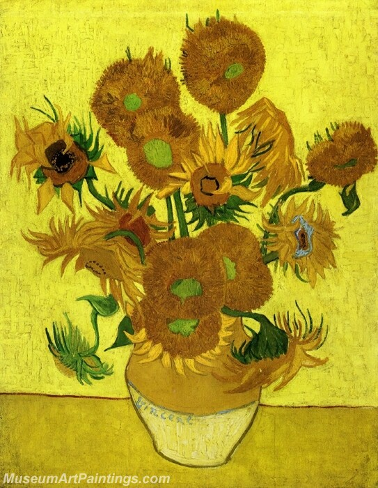 Still Life with Sunflowers Painting