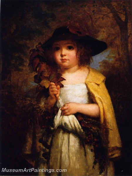 The Autumn Leaves by George Cochran Lambdin