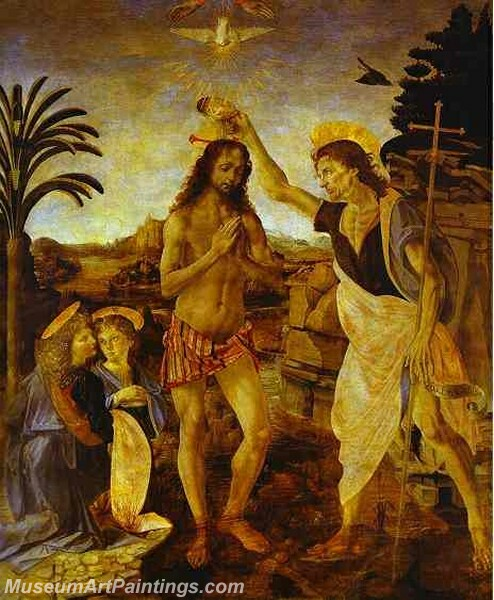 The Baptism of Christ Painting