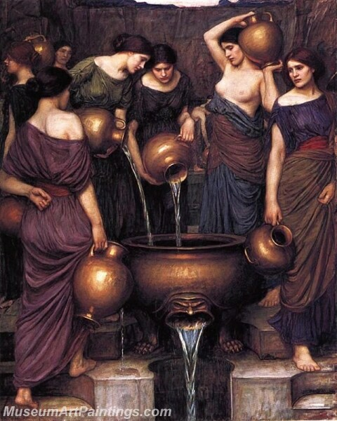 The Danaides Painting