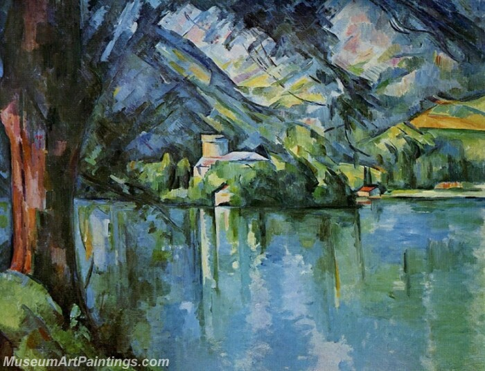 The Lac d'Annecy Painting