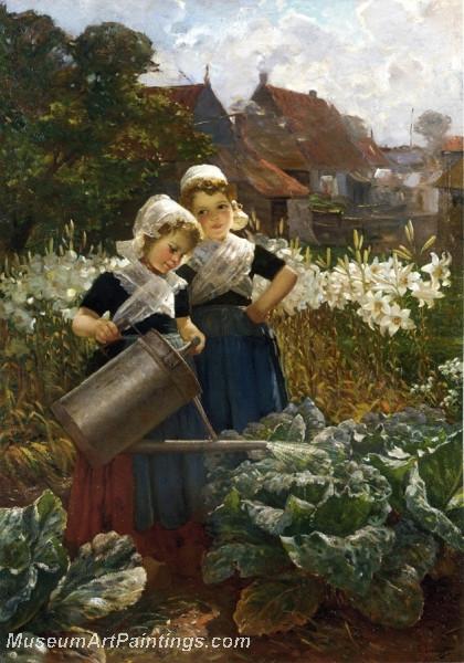 The Little Gardeners by Edmond Louyot