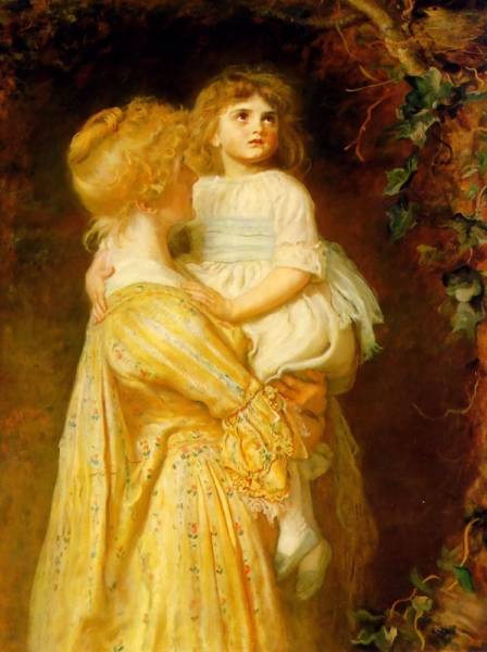 The Nest by Sir John Everett Millais