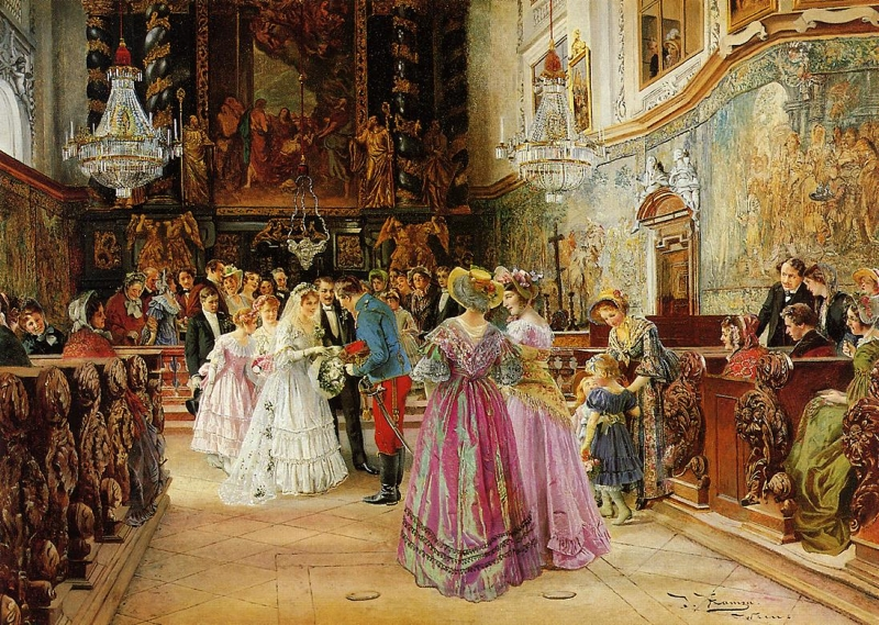 The Wedding By Johann Hamza