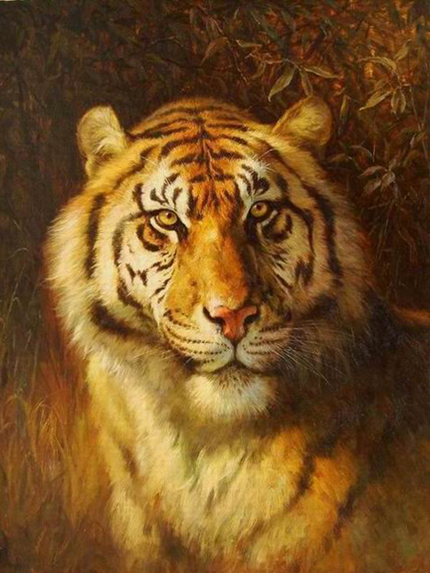 Tiger,Famous Tiger Paintings for Sale - MuseumArtPaintings.com