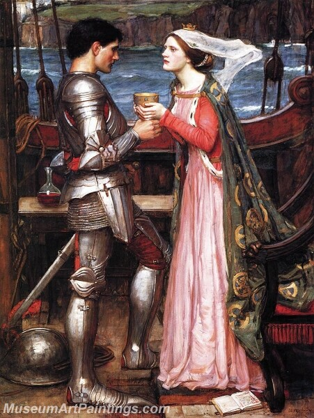 Tristram and Isolde Painting