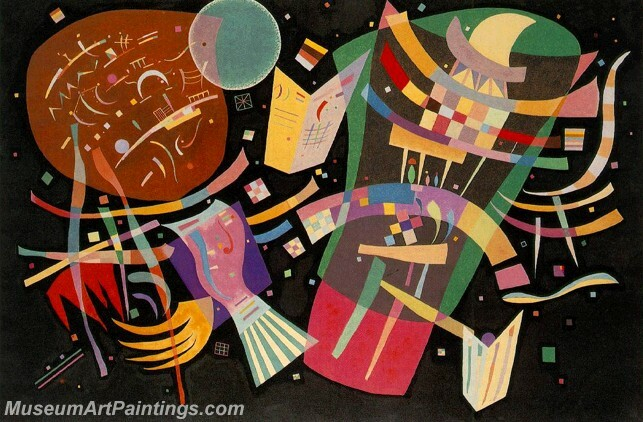 Wassily Kandinsky Composition X 1939 Painting