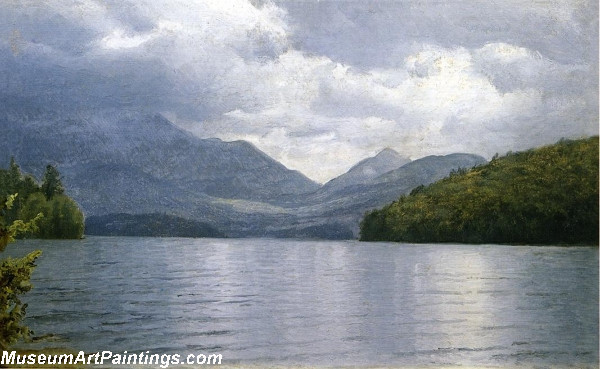 Wilmington Notch Lake Placid New York Painting